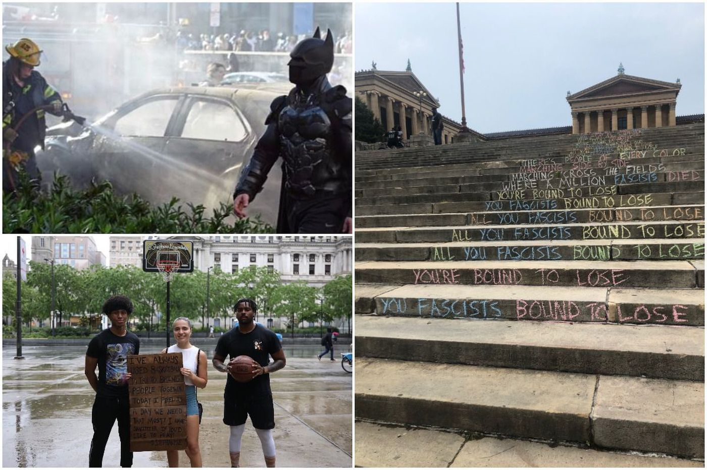 Amid pain and powerful protests, Philadelphia still found a way to be Philly. Here are 10 of those moments.