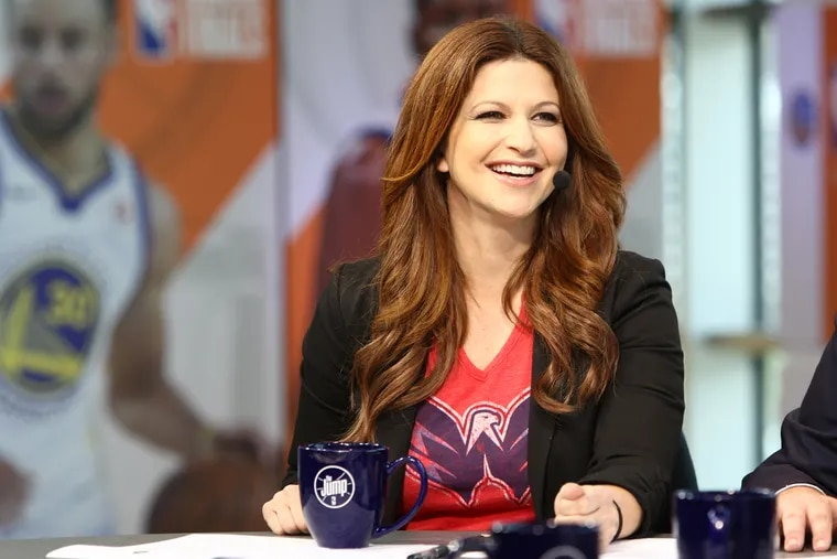 """Rachel Nichols has been taken off the air at ESPN and her show, """"The Jump,"""" has been canceled."""