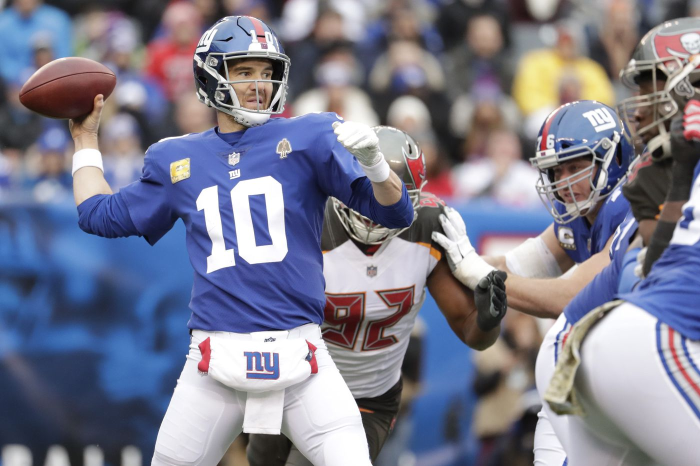 Watch out: Giants win second in a row ahead of matchup with Eagles