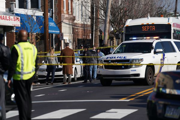Philly police officer wounded, suspect critical after shootout outside SEPTA bus
