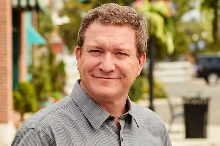 """This undated photo provided by the Disney Channel on Saturday, Dec. 15, 2018 shows Stoney Westmoreland as Henry """"Ham"""" Mack in Salt Lake City. In a statement Saturday, Disney announced that the 48-year-old Westmoreland had been dropped from the sitcom """"Andi Mack,"""" on which he plays the grandfather of the teen-age title character. He was arrested for allegedly attempting to have a sexual relationship with an online acquaintance he believed was 13. (Craig Sjodin/Disney Channel via AP)"""
