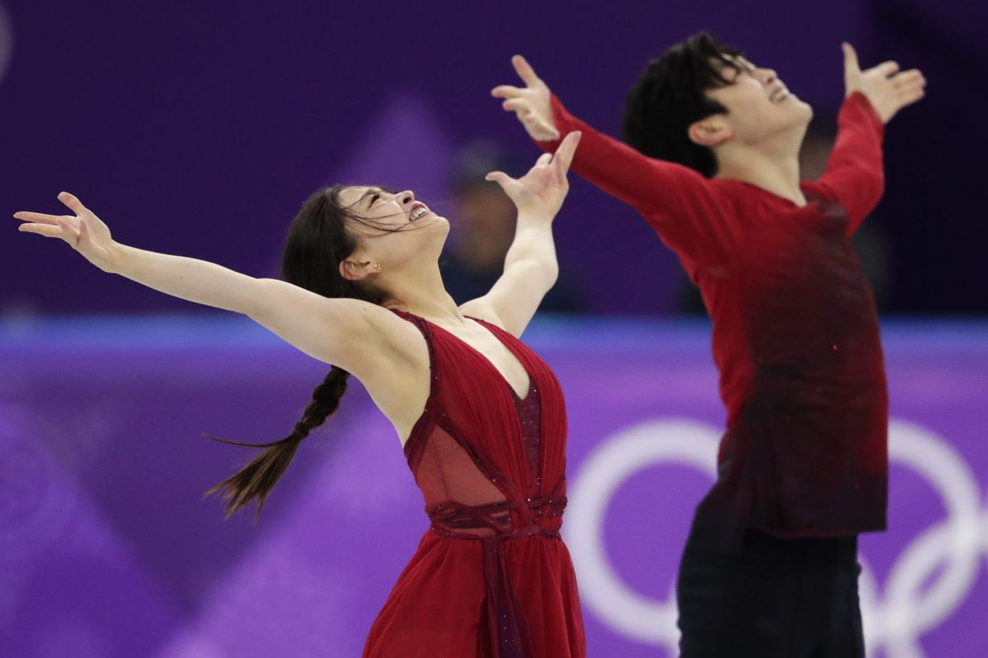 Ice dancing is sensual. The Shibutanis - America's 'Shib Sibs' - try to portray passion of a different kind