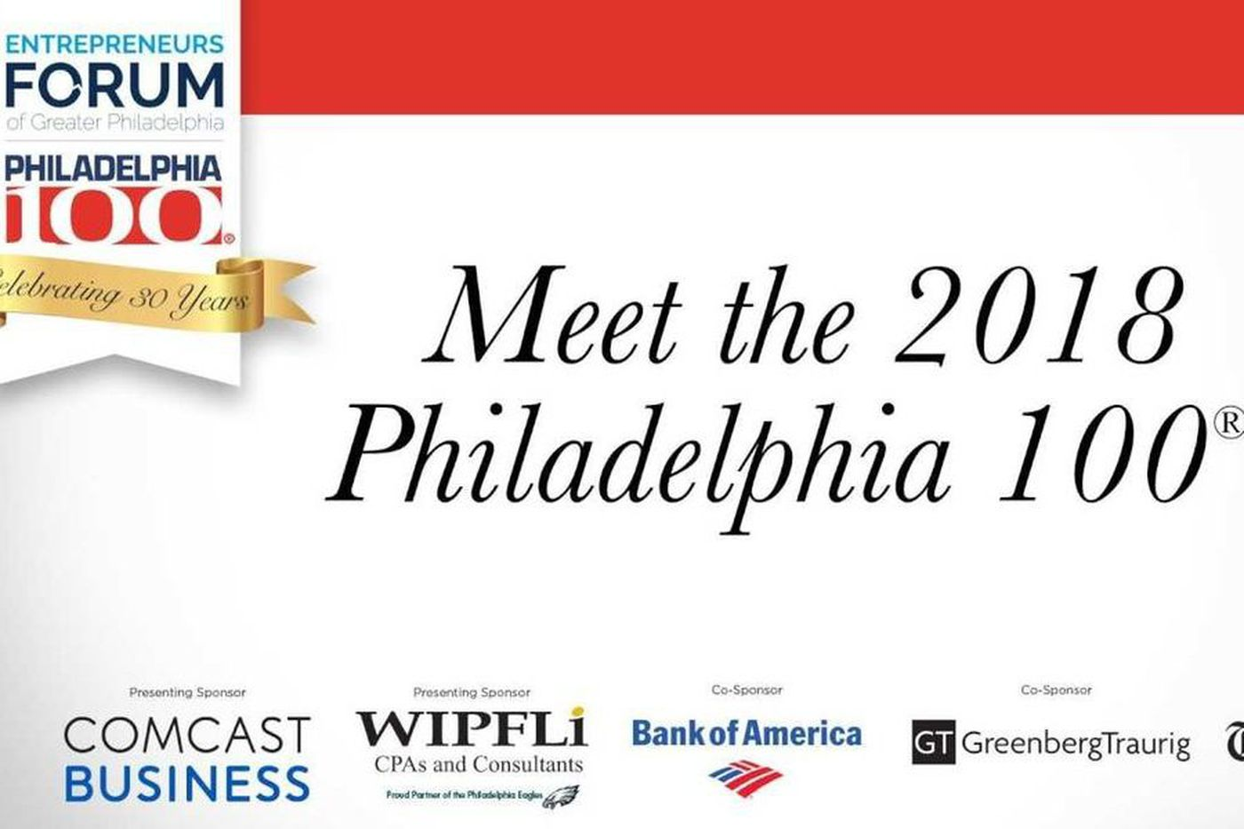 Introducing the 2018 Philadelphia 100, the region's fastest growing companies