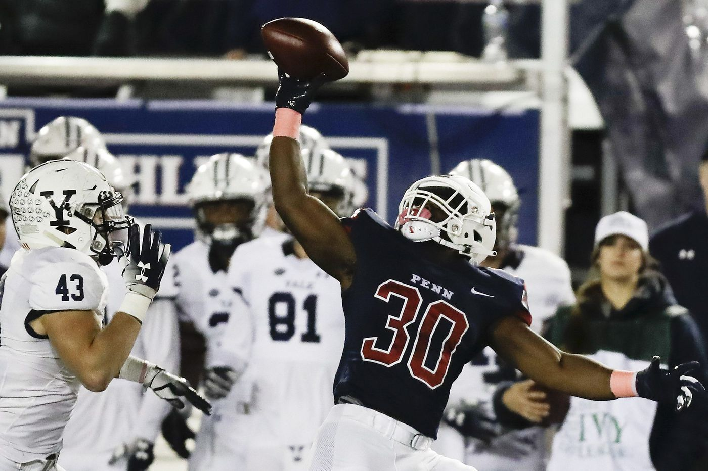 Penn football falls hard to Yale, 23-10