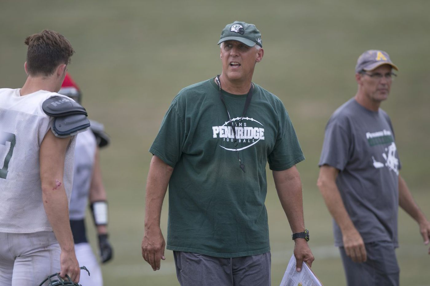 Jeff Hollenbach will coach his final football game at Pennridge