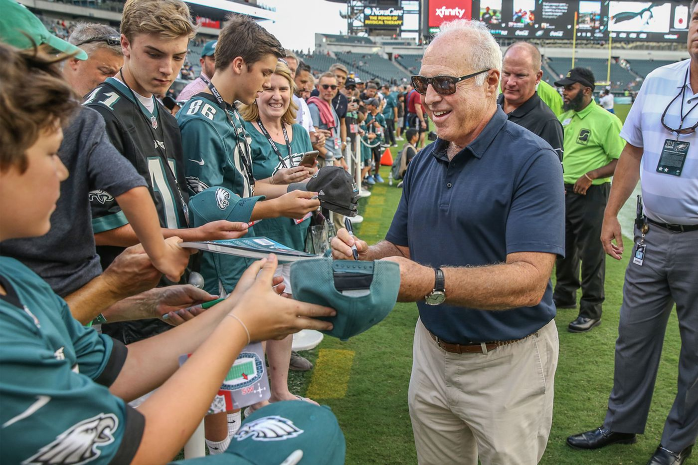 Jeff Lurie bought the Eagles for $185 million. They're worth a lot more today.