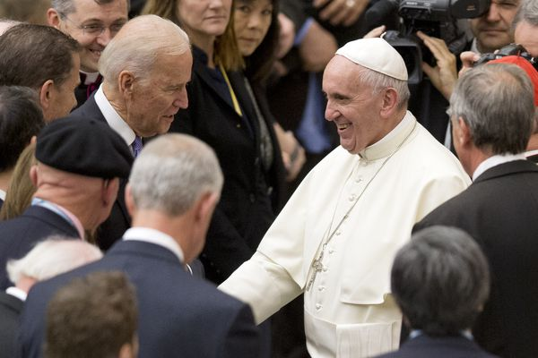 Catholic priest had every right to deny Joe Biden communion over abortion views | Christine Flowers