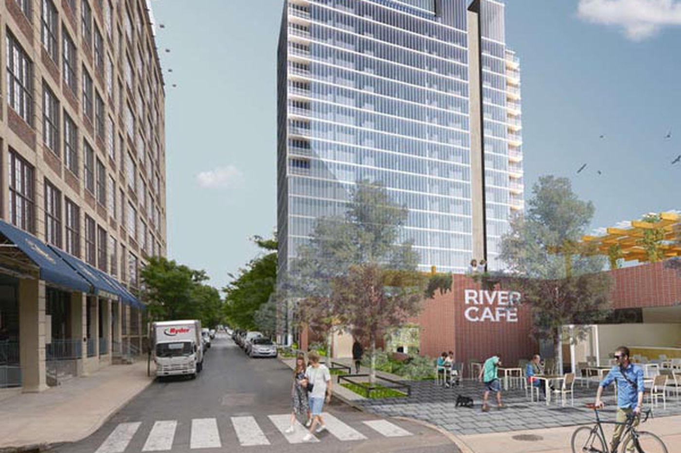 Tower near Schuylkill River Park wins design approval