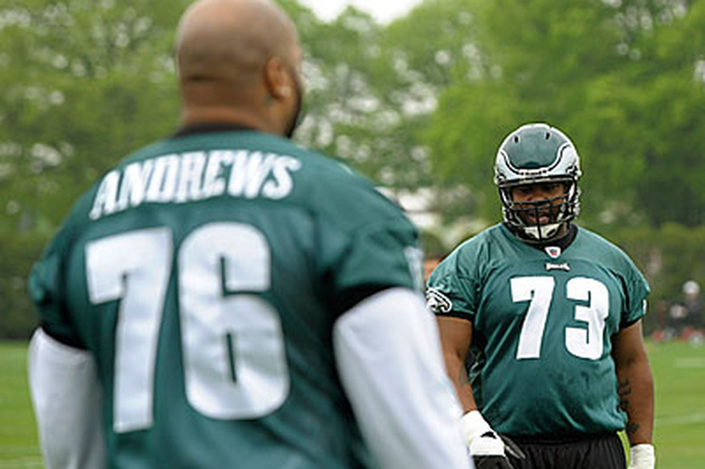 Eagles set to unveil revamped offensive line