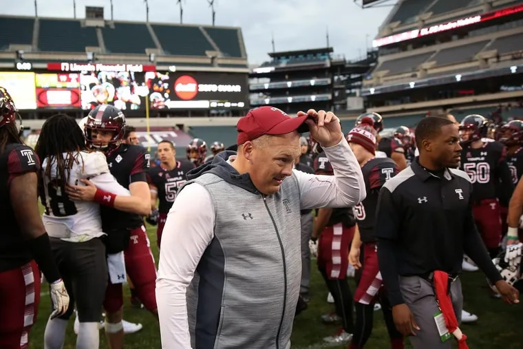 Temple Owls football head coach Geoff Collins is pleased with the haul in his 2018 recruiting class so far.