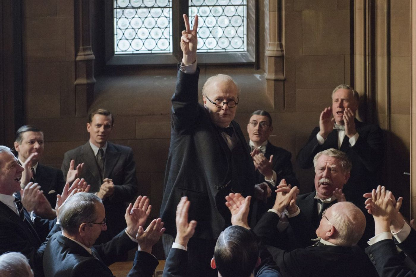 Winston Churchill biopic is a reminder that America can rise above this darkest of hours   Opinion