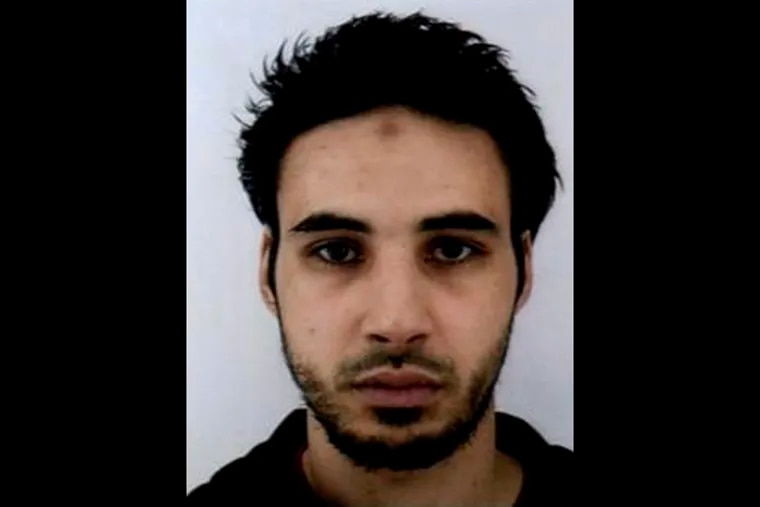 This undated file handout photo provided by the French police, shows Cherif Chekatt, the suspect in the shooting in Strasbourg, France. The French government spokesman says security forces are trying to catch the suspected shooter dead or alive, Thursday Dec. 13, 2018, two days after an attack near Strasbourg's Christmas market. (French Police via AP, File)