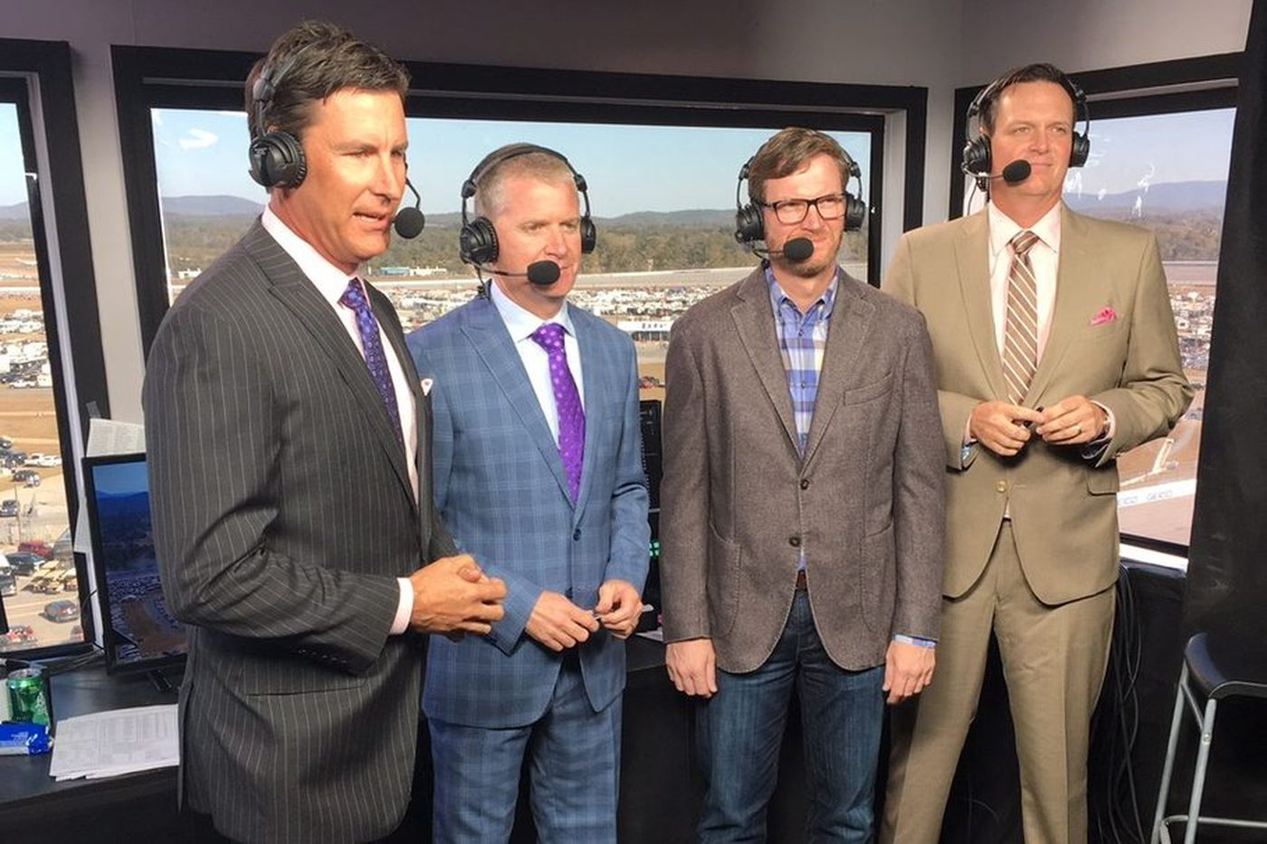 NASCAR on NBC crew wants to point out all that is at stake in the Monster Energy playoffs