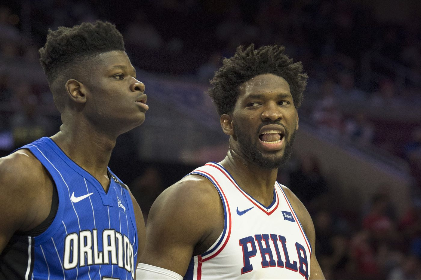 In first NBA game, Magic rookie and Westtown grad Mohamed Bamba faced mentor Joel Embiid