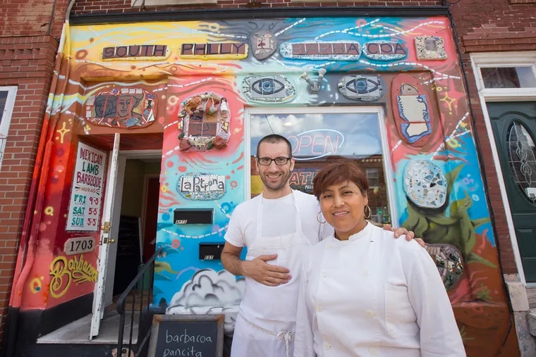 Cristina Martinez and husband Ben Miller's South Philly Barbacoa has drawn national praise. In sharing her food, Martinez is also sharing her story.