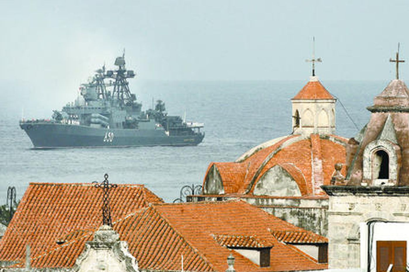 Russian vessels pay visit to Cuba