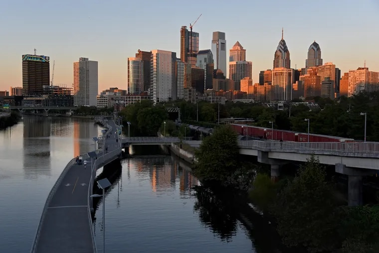 The Philadelphia skyline, pictured in October 2017. As economists and real estate experts look ahead to 2019, many say they expect the real estate market to cool — following a national trend.