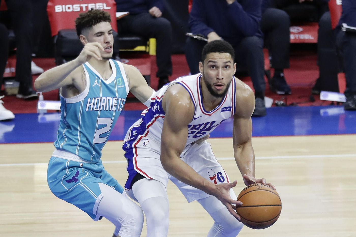 Sixers' fast pace, unselfish play, has led to many wide open shots