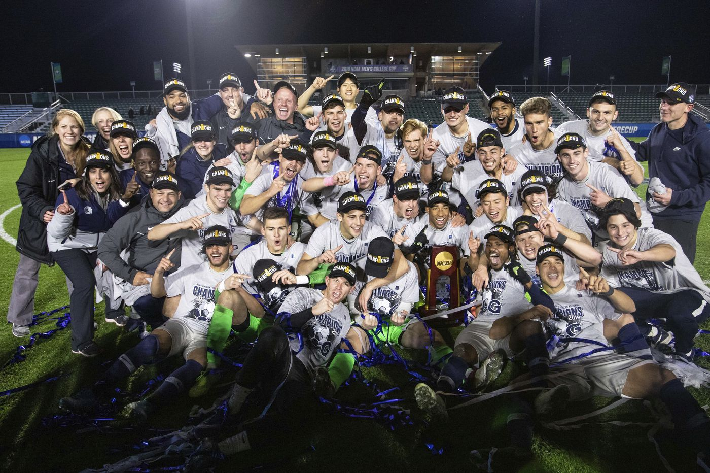 Georgetown win NCAA soccer title over Virginia, with Cherry Hill's Tomas Romero in net