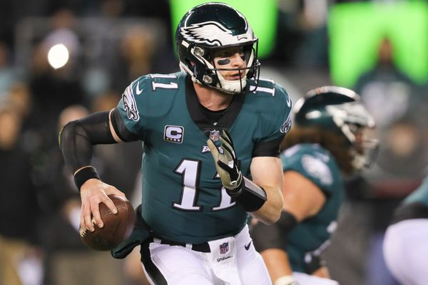 Eagles quarterback Carson Wentz ruled out vs. Rams, will still travel with team to Los Angeles
