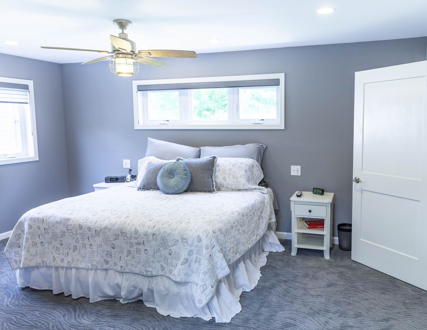 Inside The New First Floor Master Bedroom In The Helms Home