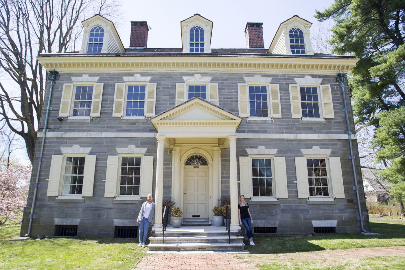 Couple's historic Philly home came with an unusual caveat