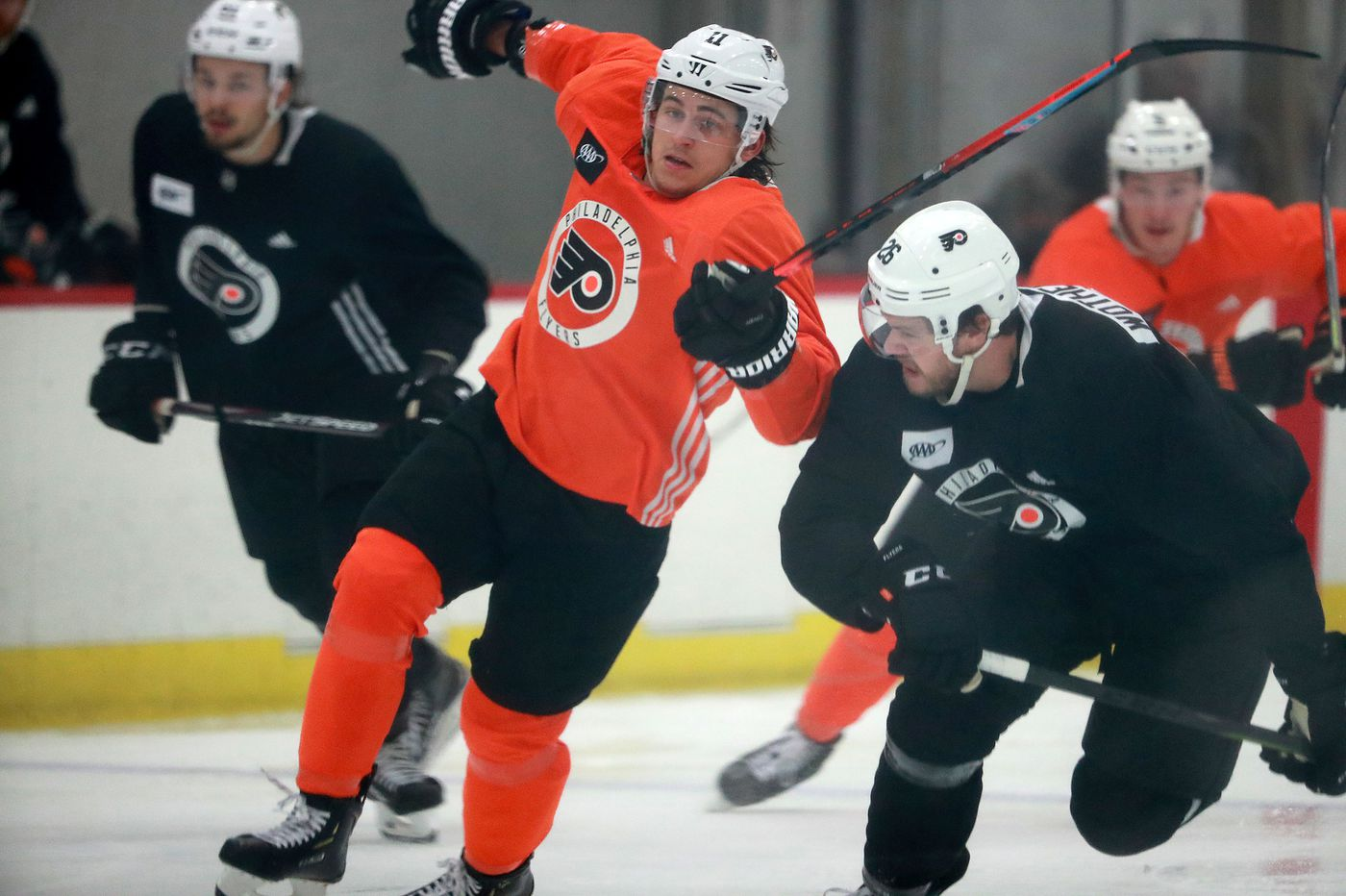 Flyers right winger Travis Konecny is using last year's playoff funk to 'fuel myself' for a strong season