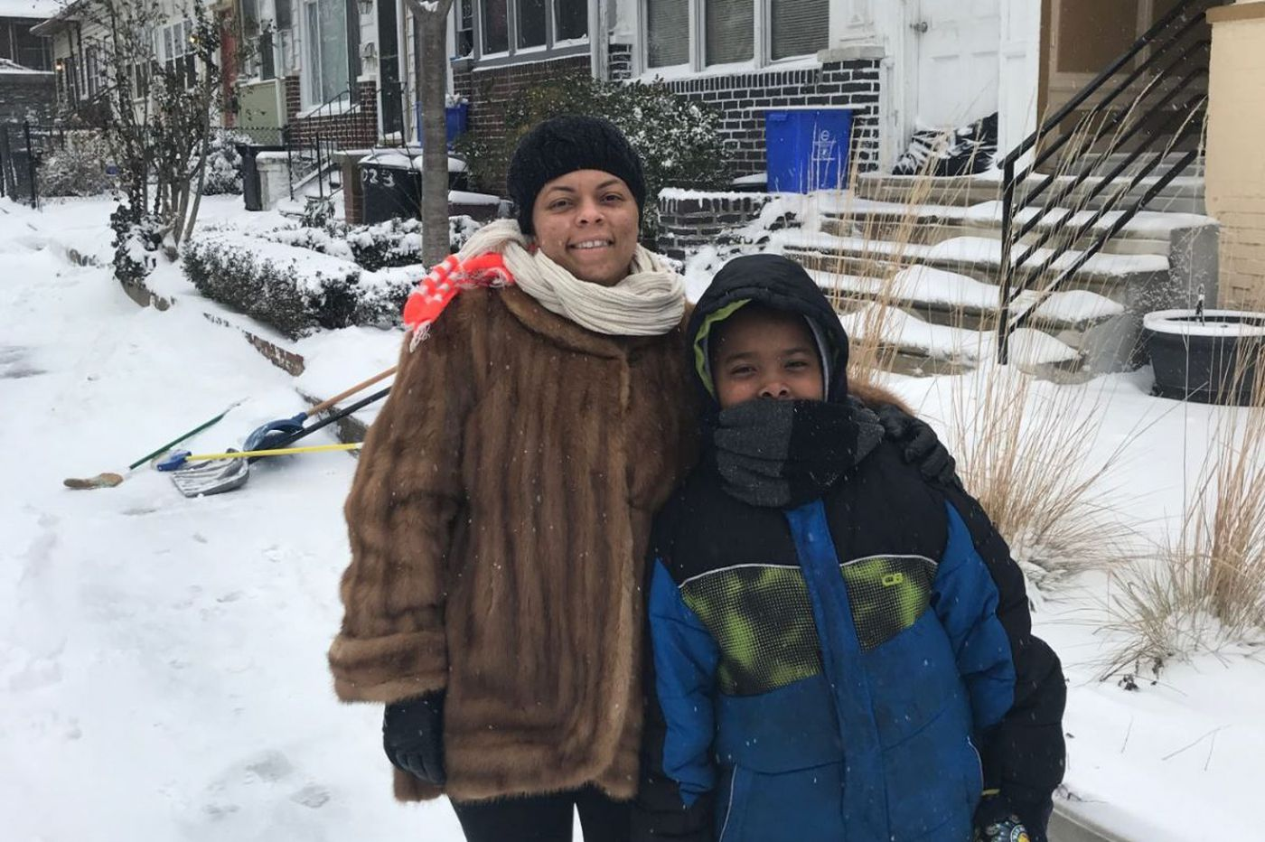 West Philly kid takes neighborhood shoveling to the next level