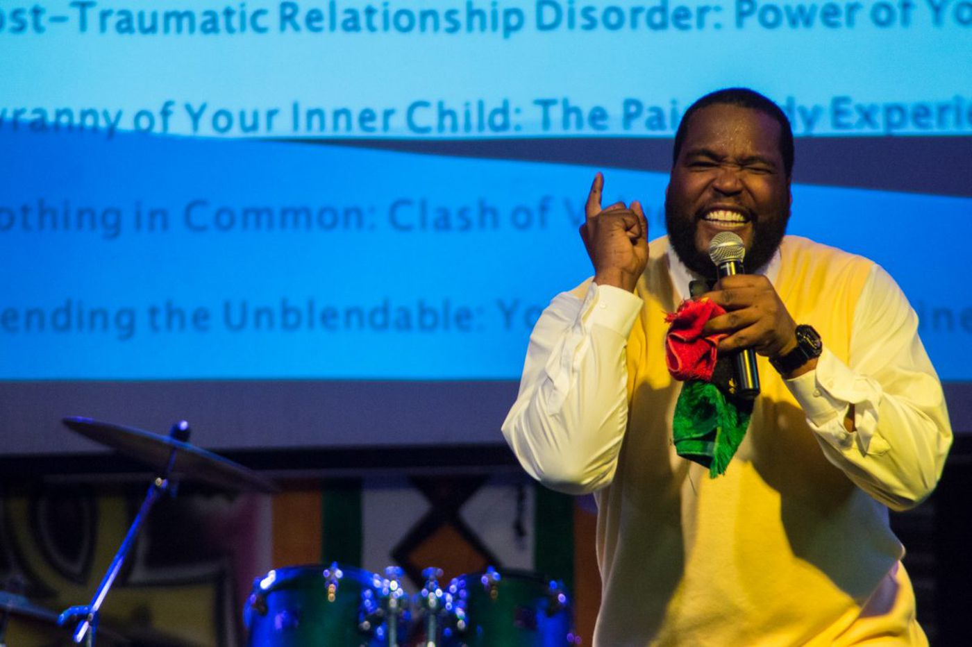 Popular speaker Umar Johnson faces fines over lack of psychology license