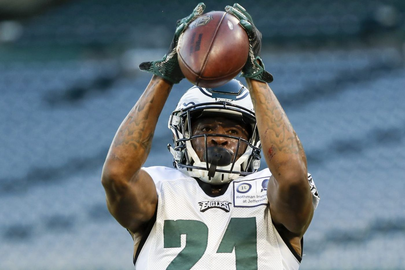 Patrick Robinson's play in the slot has been important for Eagles' defensive success