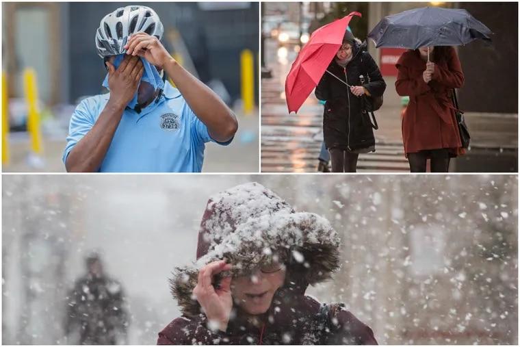 Philadelphians are battling hotter temperatures, heavier rains, and bigger snowstorms.