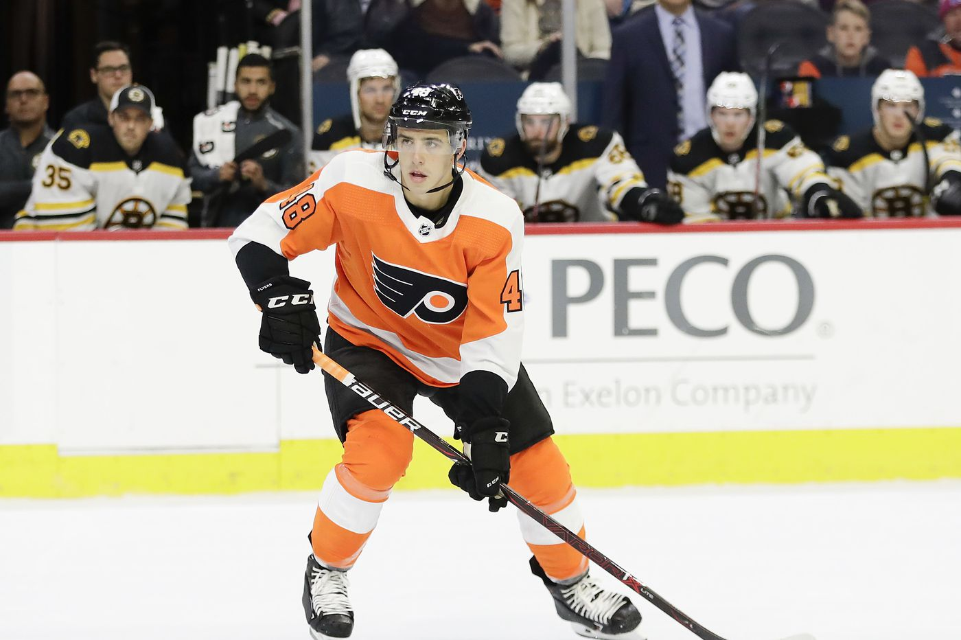Morgan Frost scores in his NHL debut, but Flyers fall to Florida for 4th straight defeat