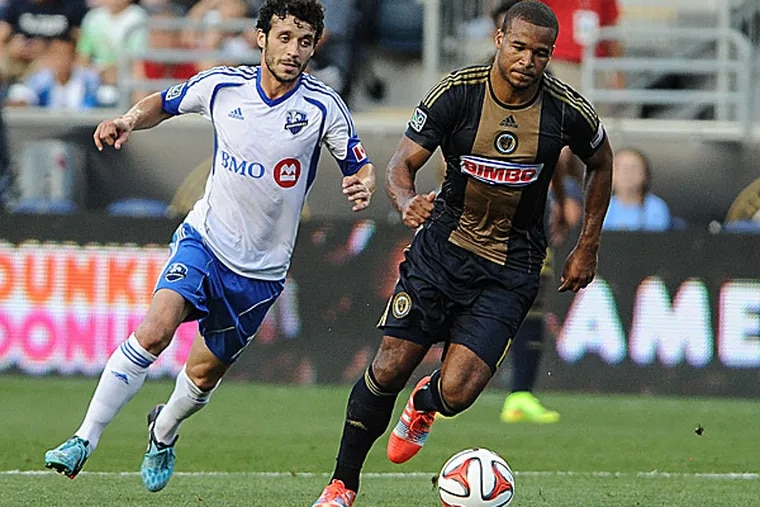 Union defender Ethan White. (John Geliebter/USA TODAY Sports)