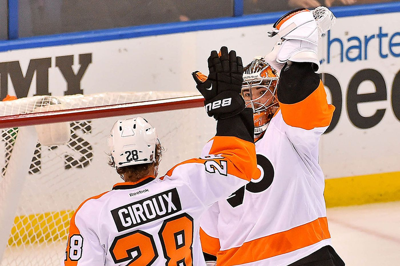 Flyers defeat the Blues in St. Louis