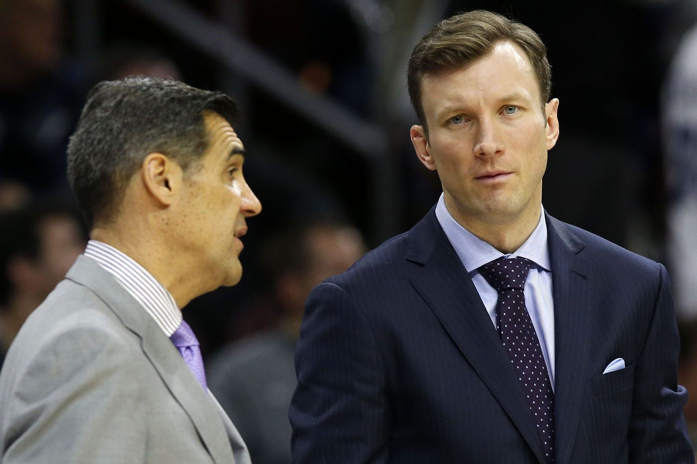 Villanova's Jay Wright not happy about facing ex-assistant Baker Dunleavy, who comes to town with Quinnipiac