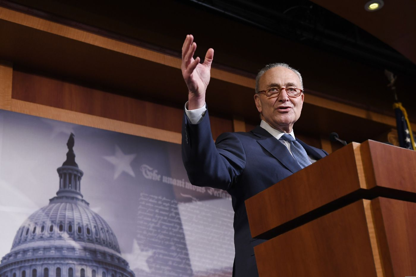 Schumer wants to protect whistle-blowers amid Trump payback