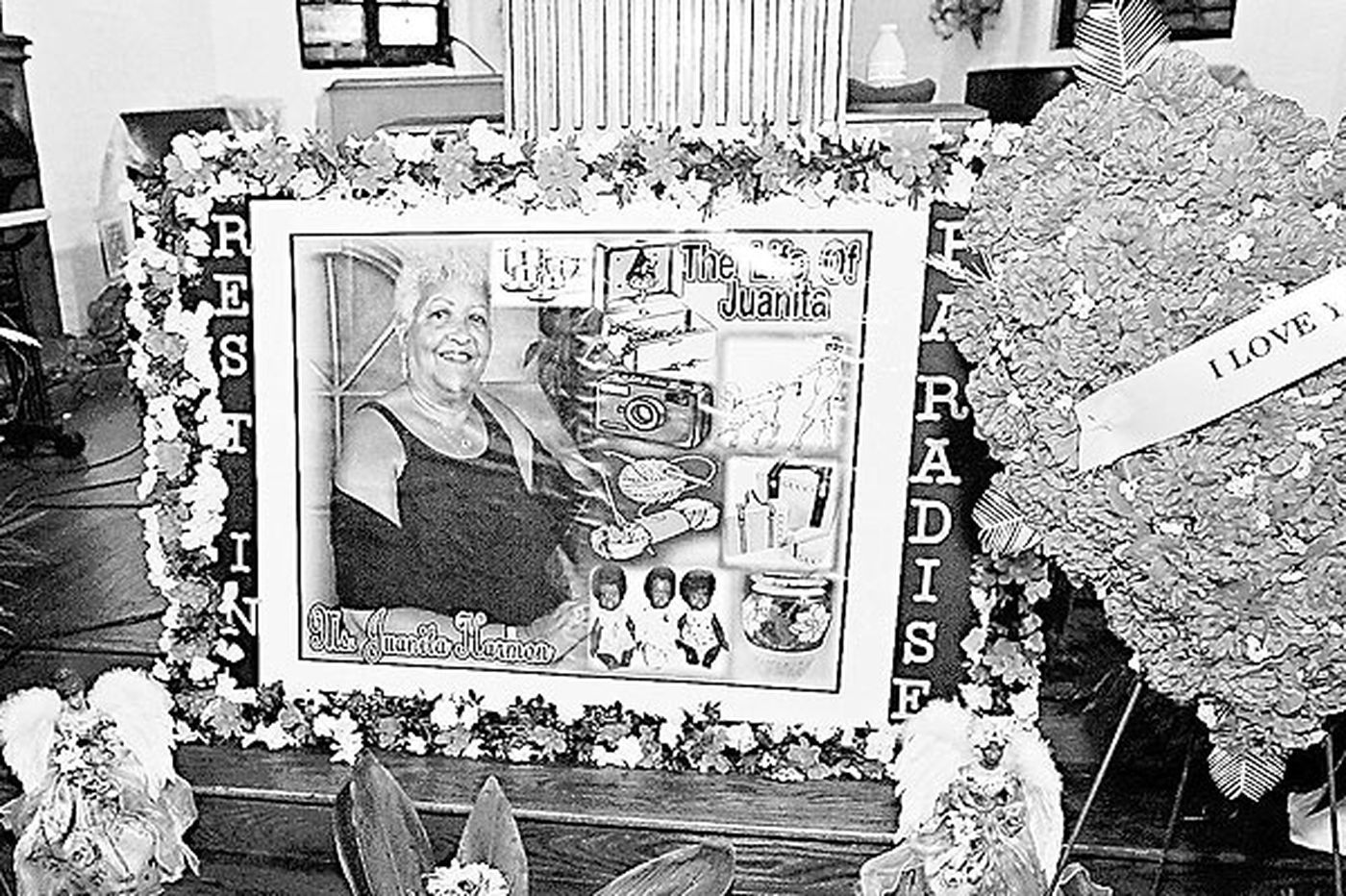 Remembering Juanita Harmon, 75, who died in collapse