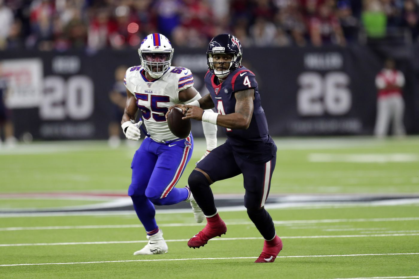 Deshaun Watson leads Texans over Bills in AFC wild-card game