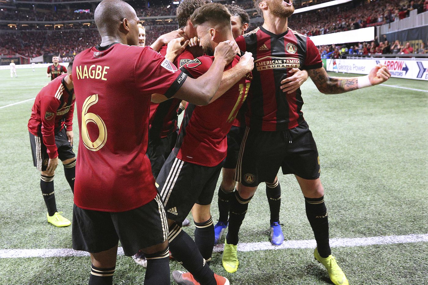 Atlanta United on course to host MLS Cup final after 3-0 rout of New York Red Bulls