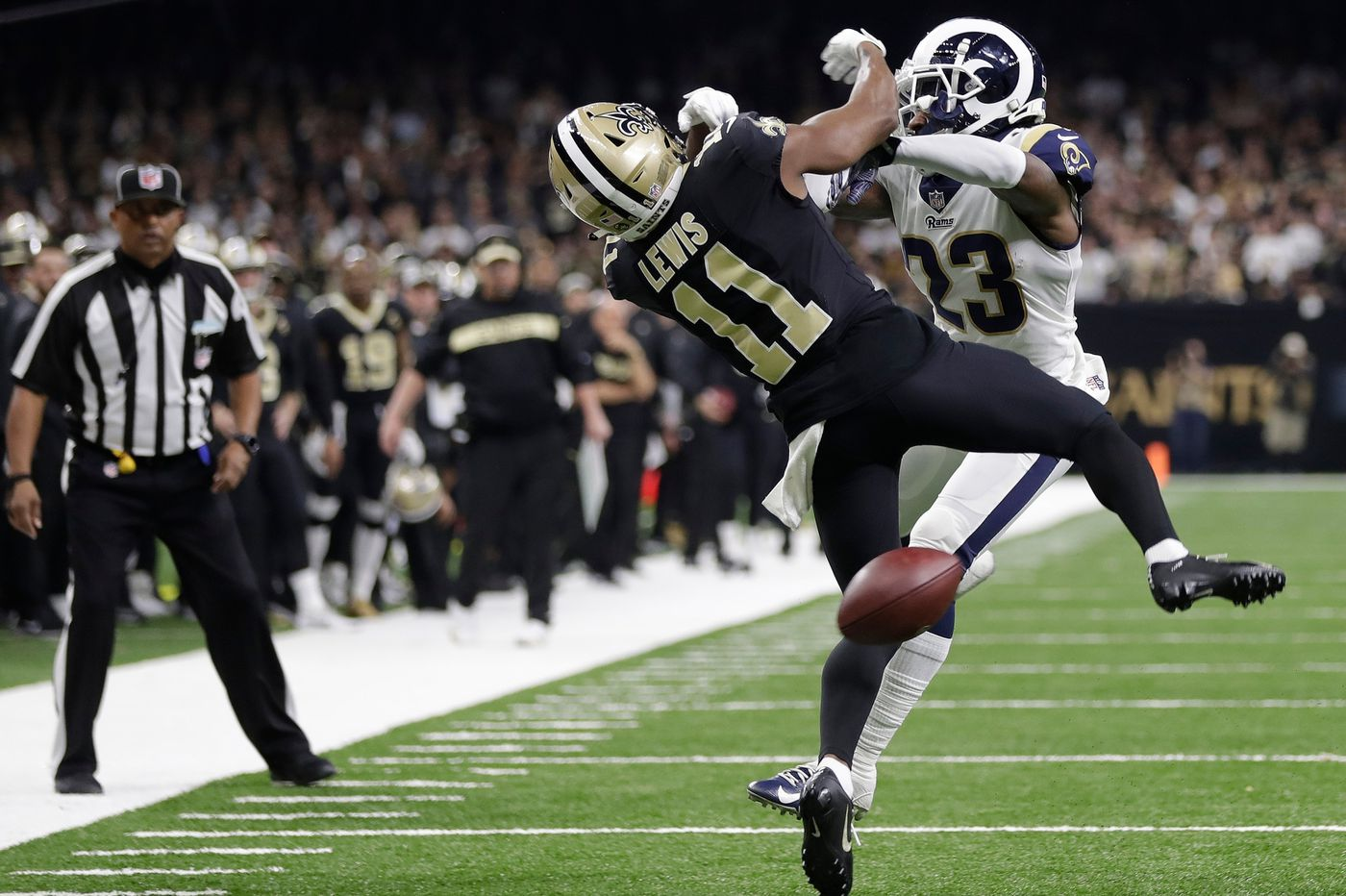 Four Officials From Rams-Saints Game Had Southern California Ties