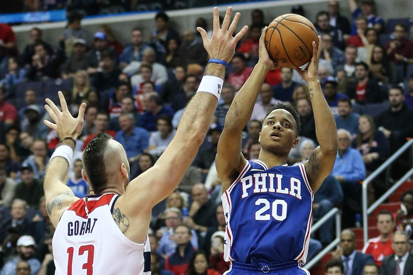 Markelle Fultz out three games; Colangelo defends team's approach