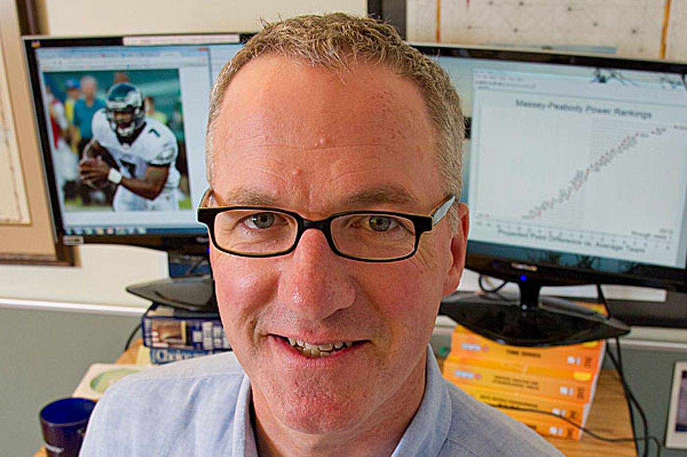 Wharton professor studies NFL draft, NFL folly