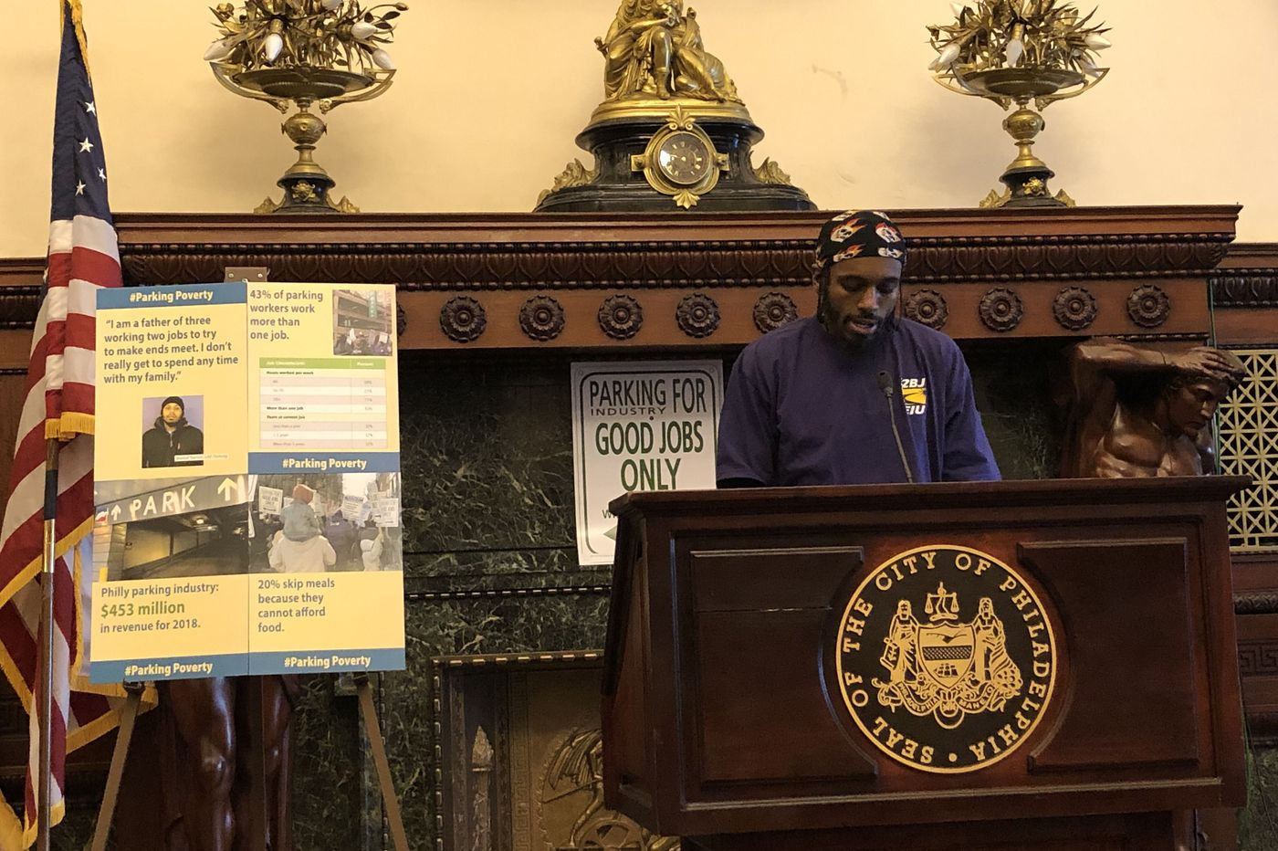 Philly City Council members pledge support for workers at hearing on 'poverty wages' in parking industry