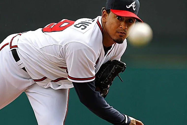 Jair Jurrjens could be an option for the Phillies for their rotation. (Paul Sancya/AP)