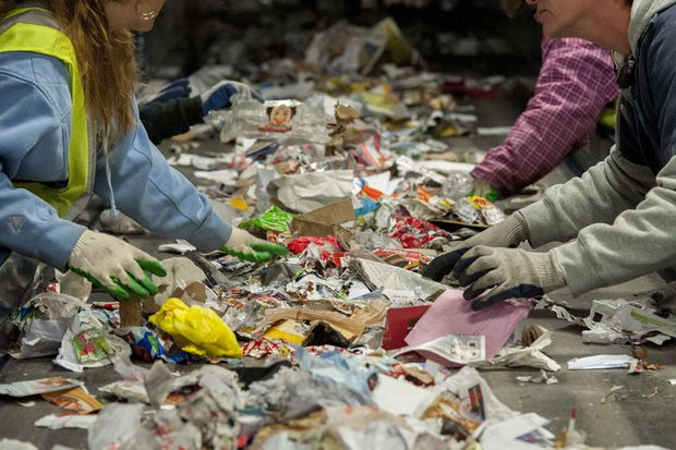 The holidays are the trashiest time of the year. Here's what to do with garbage and recyclables.
