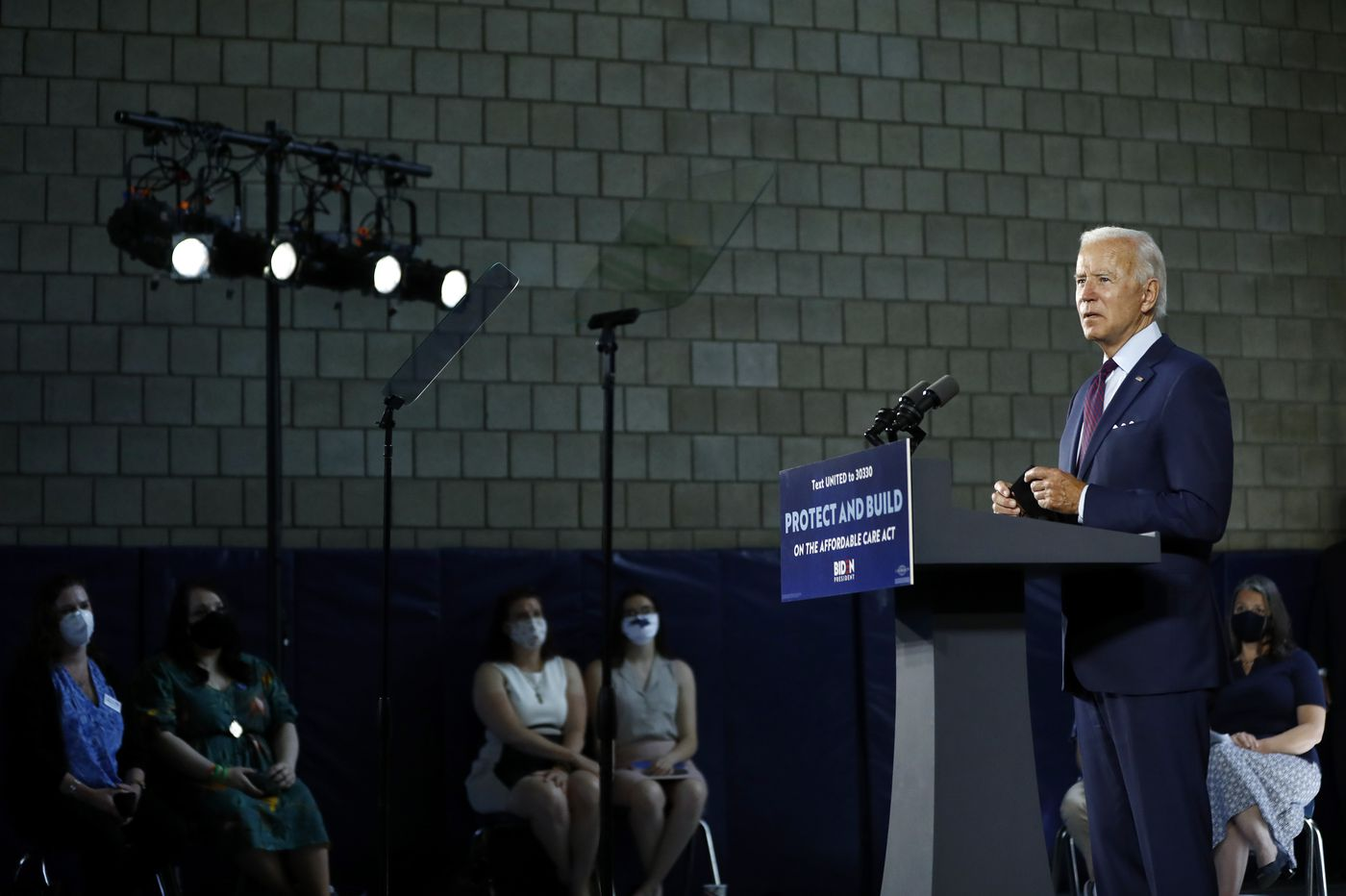 Biden campaign staff more than half women, 35% people of color
