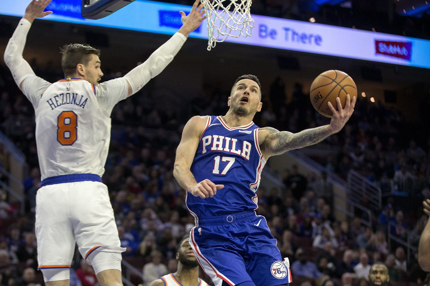 The Sixers punched the Knicks in the mouth, just as they should have