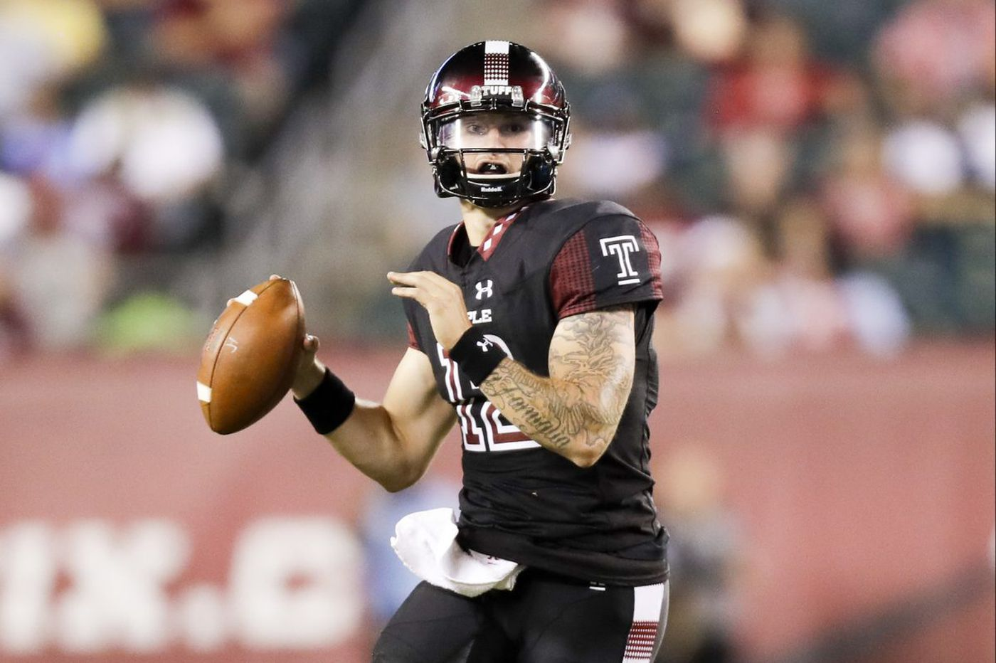 An on-the-job learning experience for Temple QB Logan Marchi