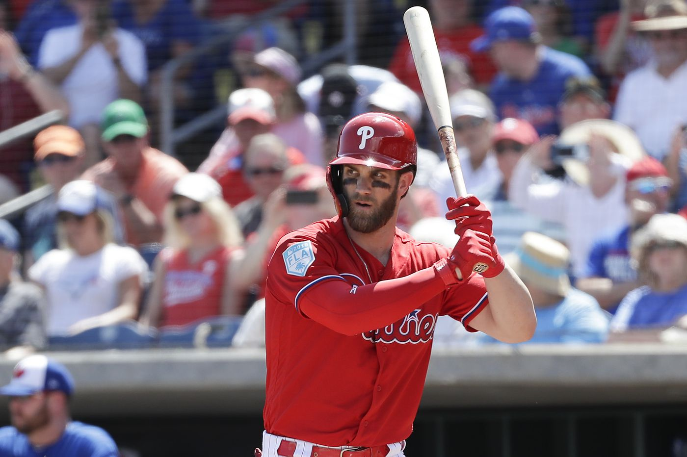 Phillies star Bryce Harper back in swing with first two spring-training home runs