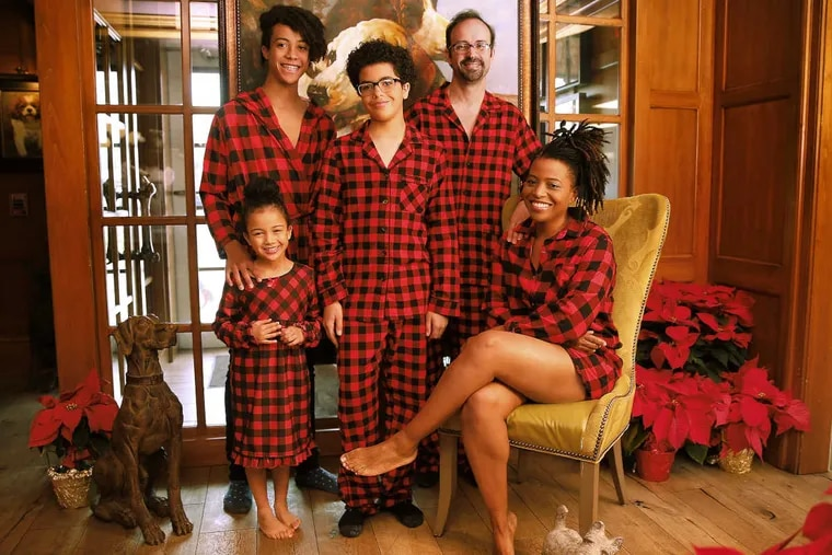 Fashionable in  flannel pajamas from Target: from left to right,  Aida, pajama shirt, 14.99; Esai, robe, $16.99; Addai, $17.49; Manuel, $24.99; Lori, romper, $17.99.